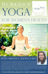 Veronica menopause workshop