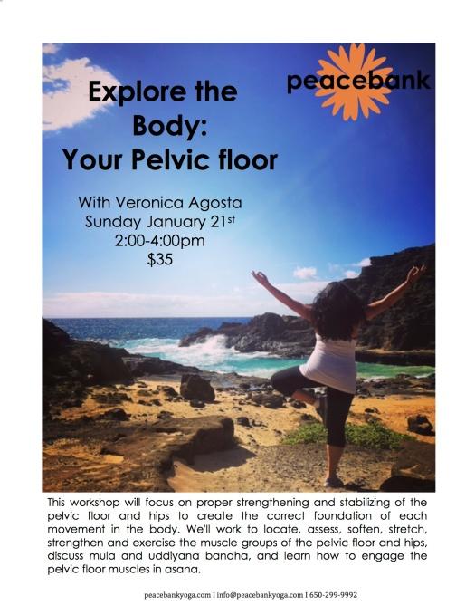 Pelvic floor and hips jan 2018