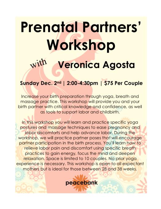 Prenatal Workshop Dec 2018